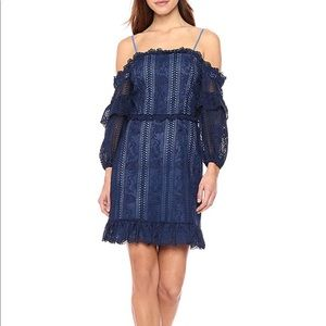NWT Parker Irma Off-The-Shoulder Lace Dress
